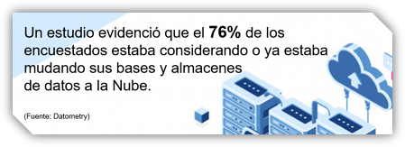 PowerData data warehouse en la nube