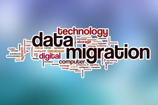 migración de base de datos